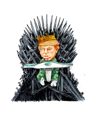 The Memes of Mad King Donald