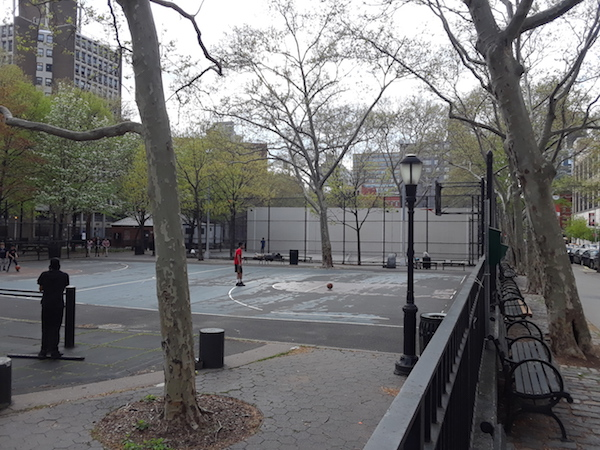 Hoop Schemes: Locals Brainstorm on Basketball Court, Park Improvements