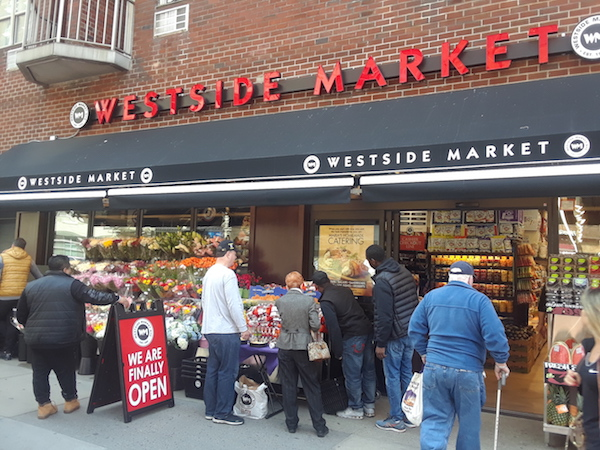 Shelves Stocked, Doors Open: Westside Market Makes its 23rd St. Move
