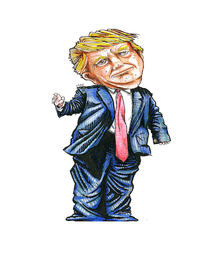 Donald Trump and the Terrible, Horrible, No Good, Very Bad Trousers