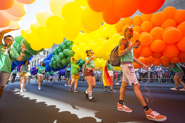 Photo Essay: Christian Miles Maps the Pride March