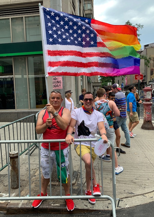 Out-of-Towners Add Their Stitch to the Rich Tapestry of Pride March