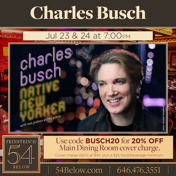 Return of the Native: Charles Busch Brings 'Favorite Cabaret Act' Back to NYC