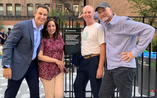 Chelsea Green Charms Neighborhood, After Years of Grassroots Efforts
