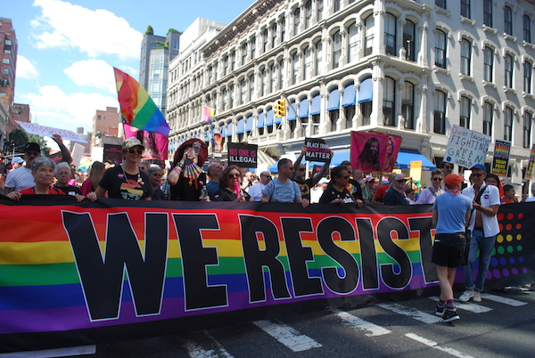 Queer Liberation March Celebrated Victories, Mourned the Dead, Demanded Justice