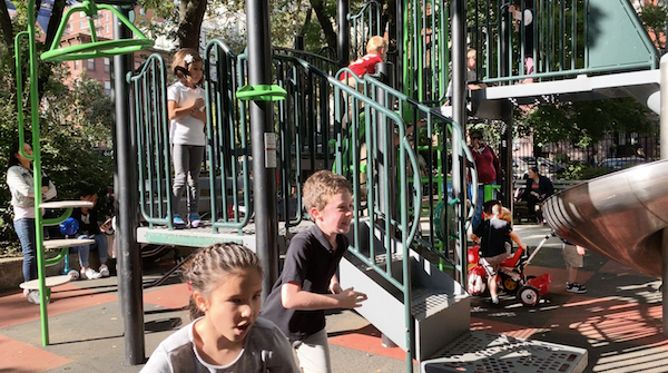 Upgraded Clement Clarke Moore Park Gets Community's 'Seal' of Approval