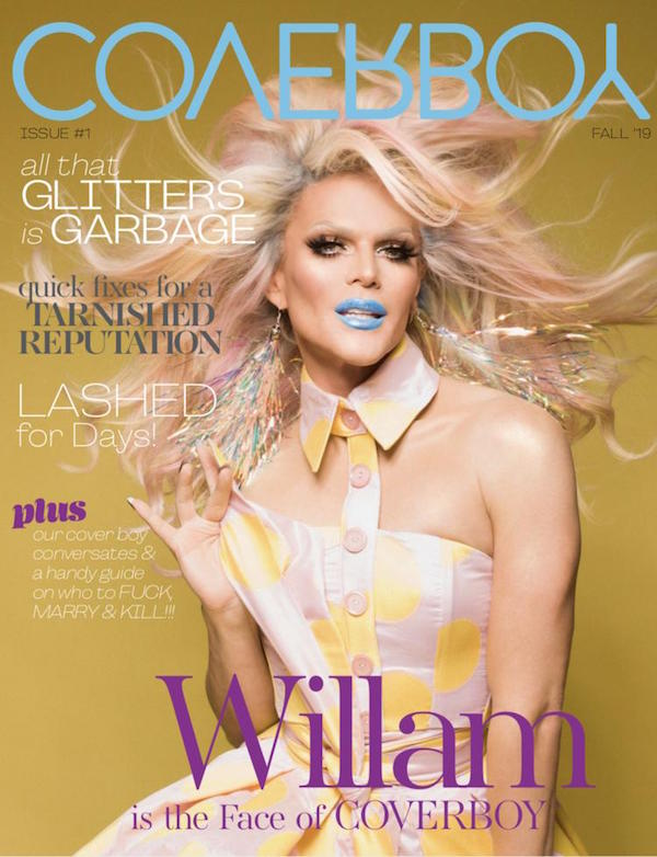 Willam Launches Drag-Centric 'Coverboy' Product Line, Lauds Lady Gaga, Ruminates on RuPaul