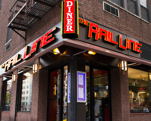 On an Iconic Corner, The Rail Line Diner is a Great Gateway to West Chelsea