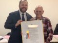 Dual Proclamations Praise Former CB4 Chair Burt Lazarin