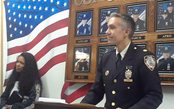 Q&A with Deputy Inspector Kevin J. Coleman, Commanding Officer of the 10th Precinct