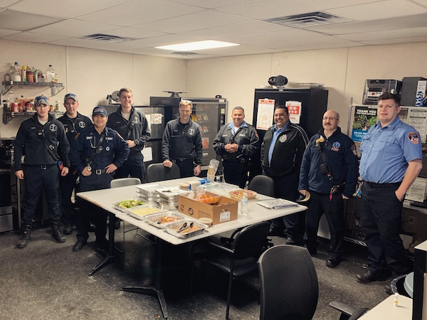 Friends of EMS Station 7 Fundraiser Brings Food to Those on the Front Line