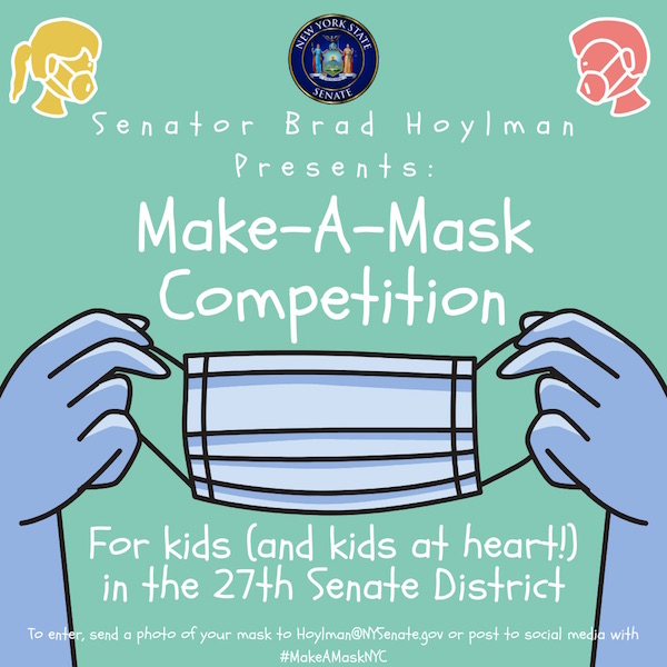 "Hoylman's ""Make-A-Mask"" Competition Faces Reality, Creativity"