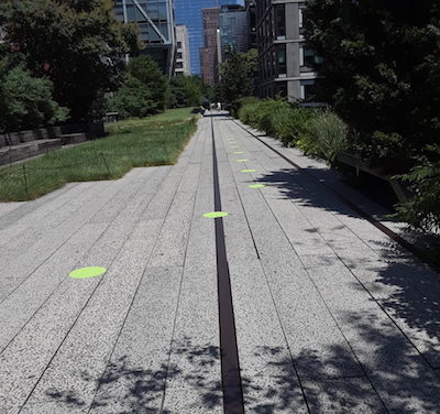 Reopened High Line Reinvented as Pandemic-Era Respite