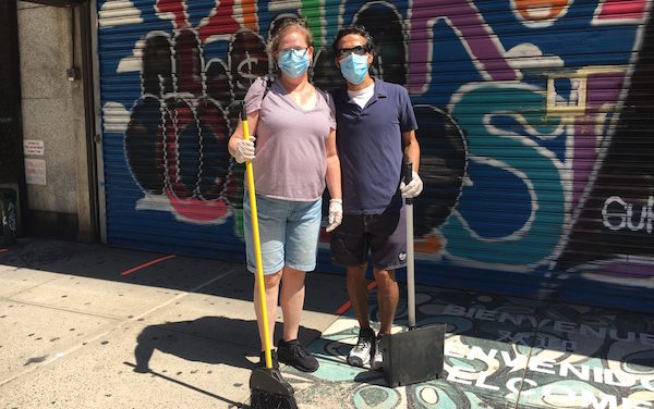 Chelsea Grit Makes Council District 3 Clean-Up Day a Sweeping Success