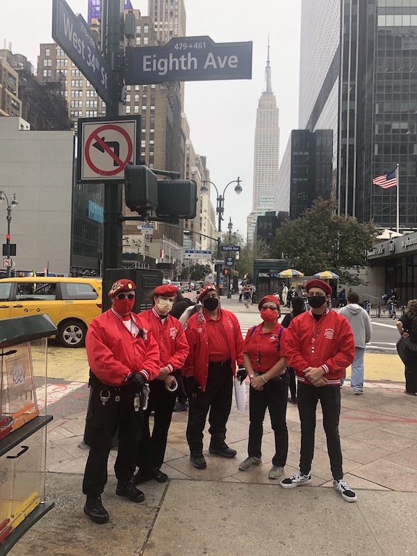 In Darkness & Daylight, Guardian Angels' Chelsea Patrol Sees Little Action, Much Interest