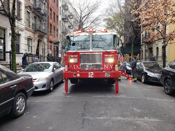 FDNY Finds Chelsea Open Street a Perfect Place to Practice