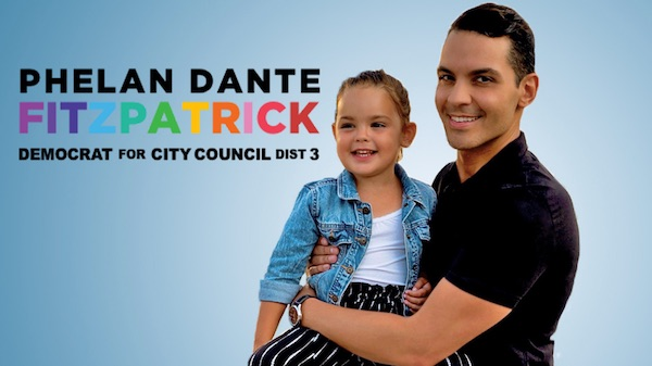 Getting to Know You: City Council District 3 Candidate Phelan Dante Fitzpatrick