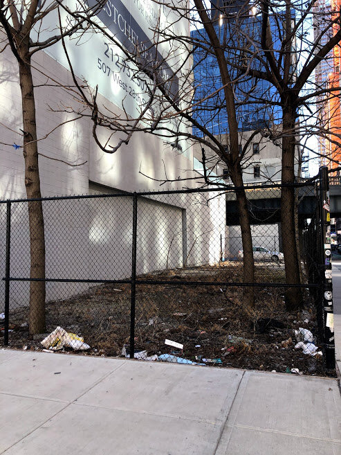 Block Association Seeks to Turn Empty Lot Into Gathering Spot