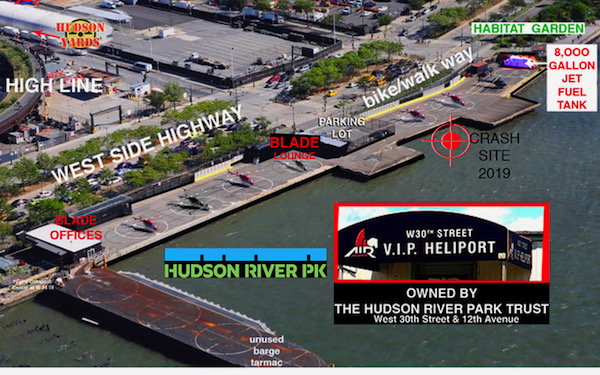 Chopped! CB4's WPE Wants Public Park's Poor Player VIP Heliport Grounded for Good