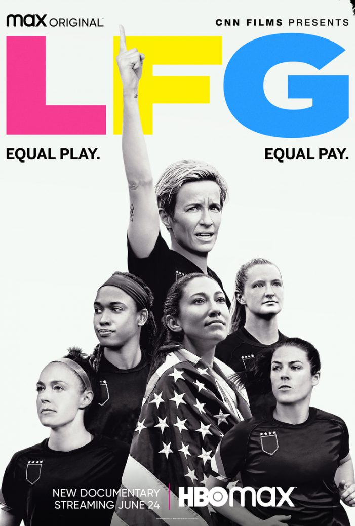 Calling Foul: Goal is Equal Pay for U.S. Women's Soccer Team, in New Doc 'LFG'