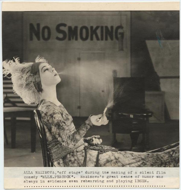 Sex Appeal of Nazimova's Feminist Forays on Stage, Screen Helped Make Her a Star