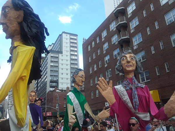 Pride Puppets' Panoply of Pioneers Play Out the March of LGBT History
