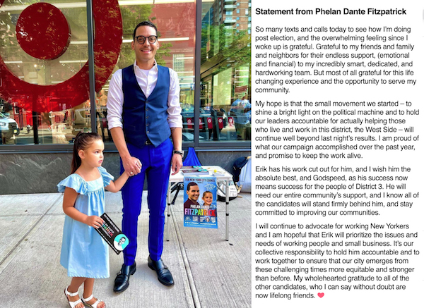 A Post-Primary Statement from Phelan Dante Fitzpatrick