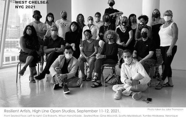 Chelsea Studio Tour Concludes Sunday, but 'Resilient' Theme Remains