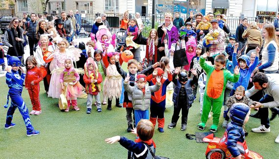 After a Year Off, a Homecoming for Halloween at Chelsea Green Park