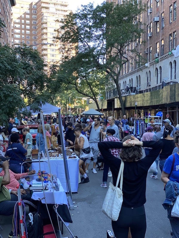 Familiar Friends Return to London Terrace Street Fair, After Last Year's Rare Leave of Absence