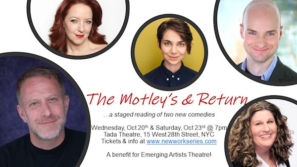 The 'Alt' Version Wins: Staged Reading of Raucous Comic Andrea Alton's Short Plays to Benefit E.A.T.